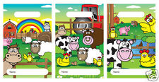 FARM Farmyard Kids Birthday Party Loot Treat Bags Fillers / Favours Choose Qty