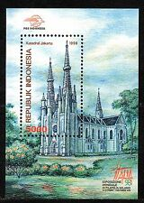 Indonesia - 1998 Stamp exhibition Italia / Cathedral Mi. Bl. 137 MNH