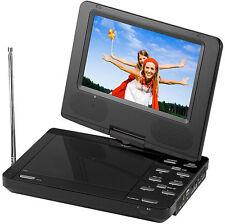 "BRAND NEW SuperSonic SC-259 Portable DVD Player 9"" & Digital TV, Swivel Display"