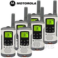 6Km Motorola TLKR T50 Walkie Talkie 2 Two Way PMR 446 Compact Radio Six Pack
