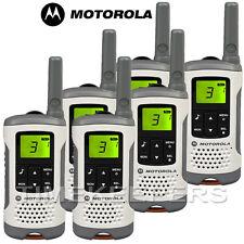 6 Km Motorola TLKR T50 Walkie Talkie 2 Dos Vías PMR 446 Compacto Radio Seis Paquete