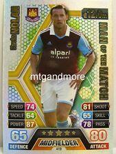 Match Attax 2013/14 Premier League - #419 Kevin Nolan - Man of the Match
