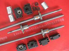 3 Lead screws ballscrews RM1605-378/660/675mm+3 BK/BF12+3 Couplings