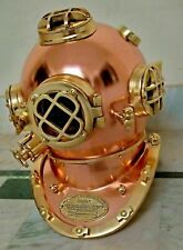 Old Royal Antique Diving Helmet US Navy Mark V Sca Scuba Marine Gift