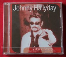 Johnny Hallyday, 10 titres de legende - best of, CD Promo sfr