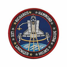 SPACE SHUTTLE DISCOVERY STS-64 RICHARDS, HAMMOND, LINENGER, HELMS, LEE Sew Patch