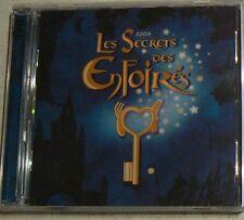LES SECRETS DES ENFOIRES 2008 - LES ENFOIRES (CD x2)  NEUF SCELLE