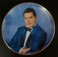 "Danbury Mint Freddie Mercury Collection 8"" Collector Plate - Barcelona"