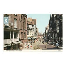 EASTGATE FROM THE CROSS, CHESTER - CHESHIRE - ETW DENNIS POSTCARD