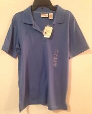 Baxter & Wells Blue Royal Short Sleeve Polo Shirt Women's size Small NWT