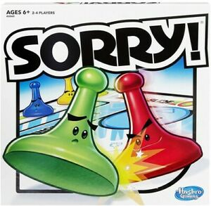 Hasbro Gaming - Sorry [New ] Dice Game, Table Top Game, Board Game