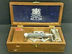 Vintage Wilkinson Sword Empire Safety Razor w/ Case & Strop