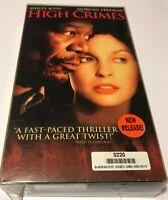VHS:  HIGH CRIMES...ASHLEY JUDD-MORGAN FREEMAN