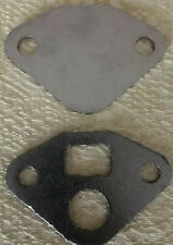 AMC 6 CYL V8 EGR VALVE STAINLESS STEEL BLOCK OFF PLATE With GASKET MADE IN USA