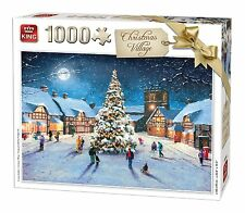 1000 Piece Jigsaw Puzzle Christmas Snow Scene Xmas Yuletide Village Tree 05610