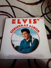 ELVIS PRESLEY CHRISTMAS ALBUM LP NM