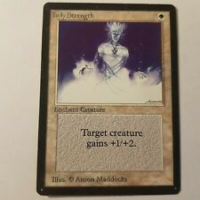 4 Giant Strength ~ Lightly Played Legends 4x x4 Playset UltimateMTG Magic Red Ca