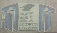 SUZUKI TS250ER TS250 ER  FULL PAINTWORK DECAL KIT