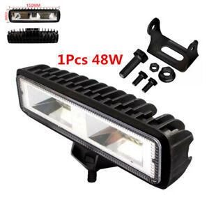 48W 1600LM LED Work Light Spot Beam Car SUV Off-Road Driving Fog Lamp Waterproof