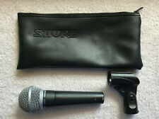 Shure SM58 Dynamic Cable Professional Vocal Microphone Almost Perfect