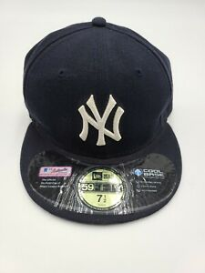 New York Yankees New Era Navy Game Authentic Collection 59FIFTY Fitted Hat 7 1/2