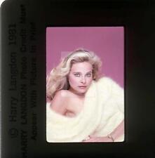 221S PRISCILLA BARNES 1981 Harry Langdon 35mm  Transparency w/rights