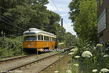 Original Photograph: Boston PCC 3268 appr Central Ave on Mattapan-Ashmont Line