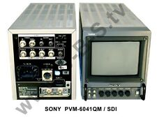 "Sony pvm-6041qm Professionale studio monitor 6"" M. SDI"
