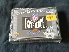 1993 Upper Deck Super Bowl NFL Experience Football Factory Sealed Set 50 Cards
