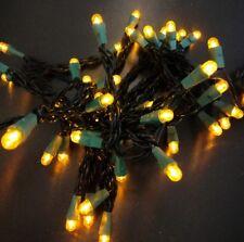 Chaîne Lumineuse LED Parti Lumières 50 Lampes Jaune Forme Sphérique Eclairage de