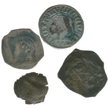 Mittelalter, Lot 4 Münzen unbestimmt, A43556