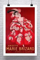 Anisette Marie Brizard Vintage Leonetto Cappiello Poster Canvas Giclee 24x34 in.