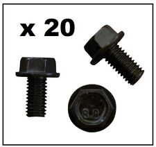 20 x M8 BOLT (BLACK) for VW VOLKSWAGEN / AUDI