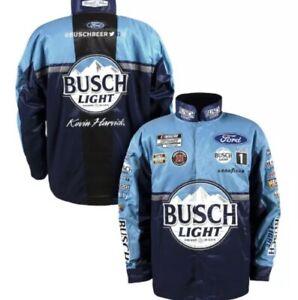 2021 Kevin Harvick #4 Busch Light Nascar Uniform Pit Crew Jacket Adult Large