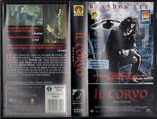 Il Corvo ( 1994 ) VHS The Crow Brandon Lee ( Horror )