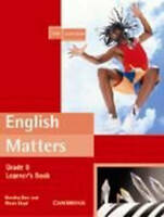 English Matters. English Matters Grade 8 Learner's Pack by Dyer, Dorothy Lloyd,
