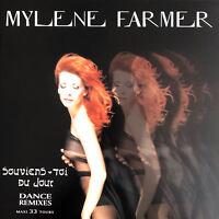 """Mylène Farmer 12"""" Souviens-toi Du Jour (Dance Remixes) - France (M/M - Scellé)"""