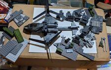 Rare Halo Mega Bloks Set #97173 FLOOD HUNTERS' UNSC FALCON, Incomplete