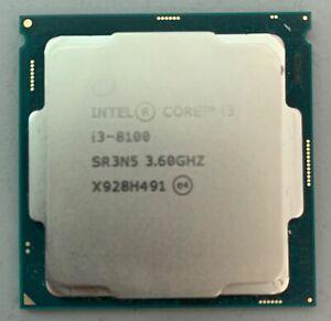 Intel Core i3-8100 (4x 3,6 GHz) SR3N5 CPU Prozessor Sockel 1151 (#6014)