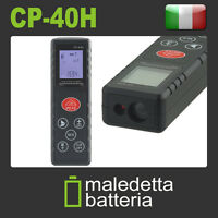 METRO LASER MISURATORE 40 METRI DIGITALE DISTANZIOMETRO CP-40H 40M (UH7)