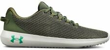 Under Armour UA Ripple Green Mesh Lightweight Shoes Trainers UK 6 - 12