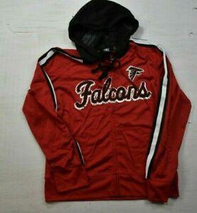 NFL Womens Atlanta Falcons Football Mesh Hoodie NWT M