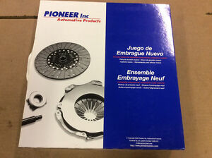 NEW Pioneer 04-112 Premium Clutch Disc Pressure Plate Throw Out Bearing Kit