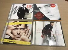 Michael Buble x4 Cd Lot, Its Time, Crazy Love, Christmas, Self Titled + bonus Cd