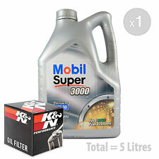 Engine Oil and Filter Service Kit 5 LITRES Mobil Super 3000 X1 FE 5w-30 5L