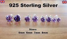 Orecchini di bigiotteria zircone cubico in argento CZ