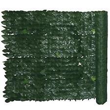 Siepe finta edera con RETE OMBRA POSTERIORE mt 3 x 1,5 sempreverde artificiale
