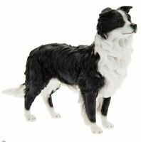 Border Collie Sheepdog Standing - Dog Ornament Figurine Gift Boxed