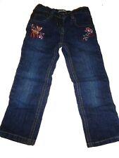 Lupilu tolle Jeans Hose Gr. 98 mit Reh und Pilz Stickereien !!
