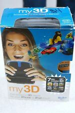 HASBRO MY 3D VIEWER FOR IPHONE AND IPOD TOUCH BLACK BLUE CELL PHONE ACCESSORY